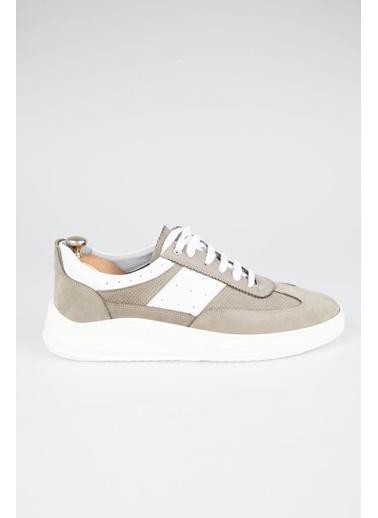 Tripy Hakiki Deri Sneakers Camel
